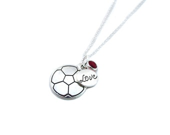 Soccer Necklace, Soccer Gifts, Soccer Jewelry, Gifts for Soccer, Soccer Player, Soccer gifts for Girls