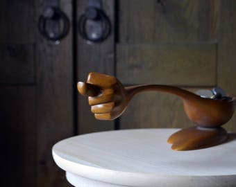 Funny wooden figurine FIG