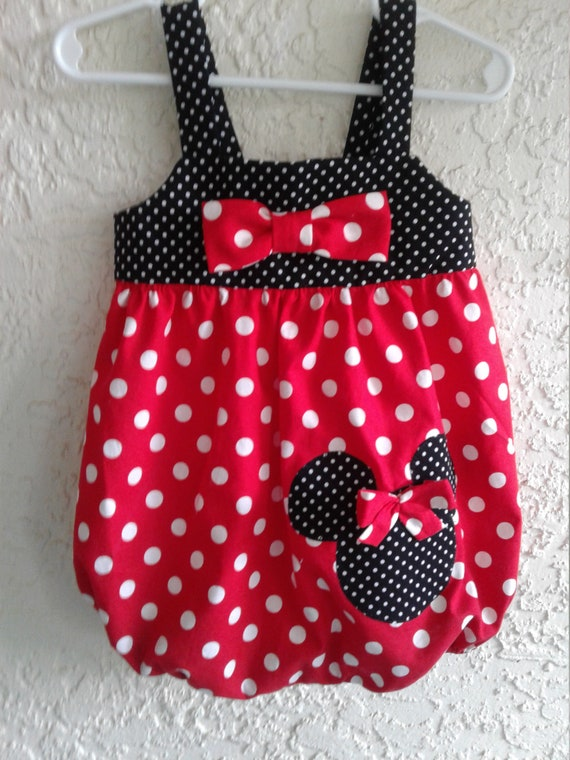 Toddler Girls Romper, Disney Minnie Mouse Romper, Toddler Sunsuit, Birthday Outfit, Disney Vacation,DisneyParks, FREE SHIPPING