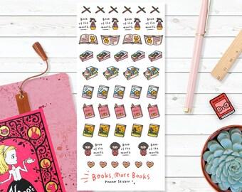 Sticker Planner - Books More Books
