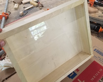 Custom Pallet Wood Shadow Boxes