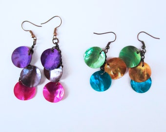Three Small Shells Earrings