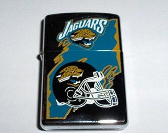 Rare Retired 1998 Jacksonville Jaguars Zippo Lighter