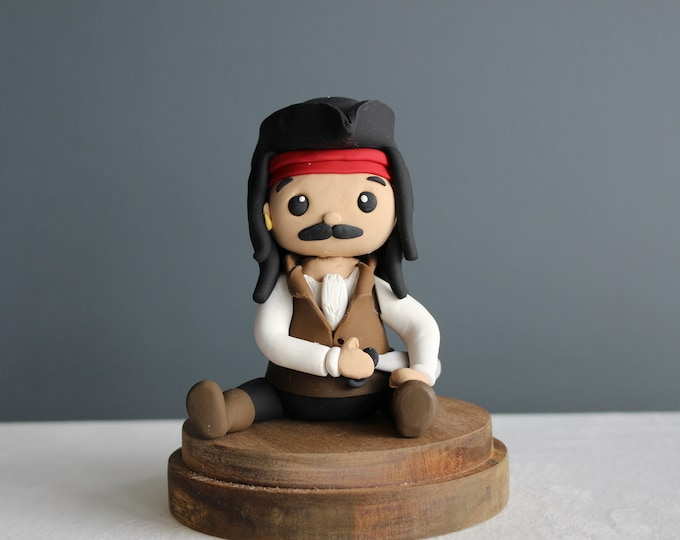 Captain Jack, Clay Model, Action Figure (Without Base)
