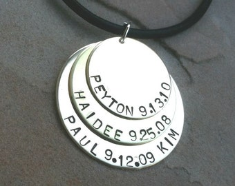 Father's Day Gift, Men's Necklace, Boyfriend Necklace, Husband Necklace, personalized for dad, father necklace, dad necklace, gifts for dad,