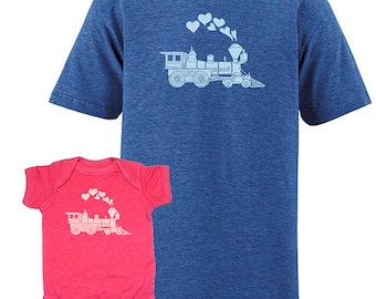 Valentines Day Matching Child Father Daughter Shirts, T shirts, Valentine gift, new dad shirt, father son, gift for dad,  from son, kids