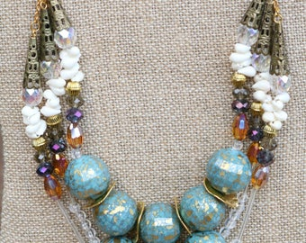 Multi Layer Beach Bliss Necklace