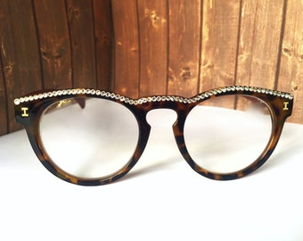 Reading Glasses Made with Swarovski Crystals +1.50