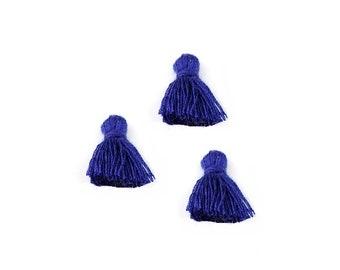 Navy Blue tassels