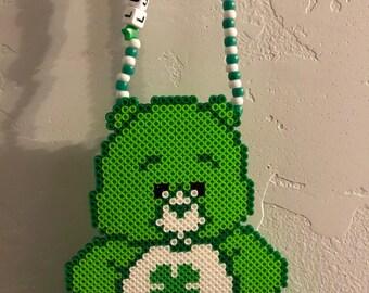 Lucky Bear Perler Necklace
