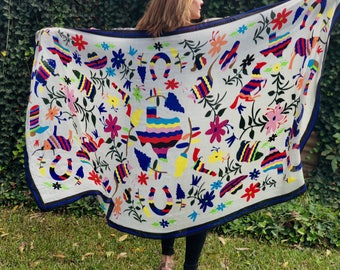 Super Texas - Otomi Inspired Scarf