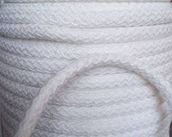 White GIMP cord Welt piping cushion furniture sold by 50mm 8 mm