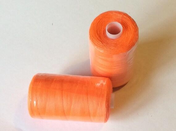 Sewing thread, 500yds or 407m, orange
