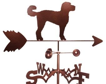 Hand Made Labradoodle Dog Weathervane New