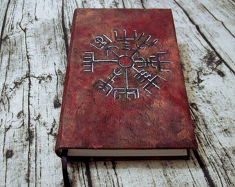 Stave Journal 300p Blank Book of Shadows painted Grimoire