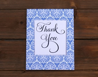 THANK YOU Classic Greeting Card
