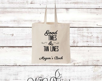 Good Times and Tan Lines Tote