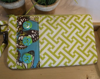 QUILTED Patchwork Wristlet/Carry-All...