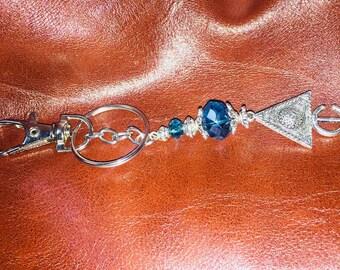 Vintage key holder key //porte craft