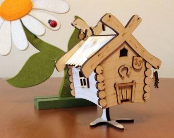 Hut on chicken legs - Bab Yaga House - present