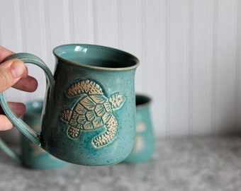 Turtle Mug 12oz