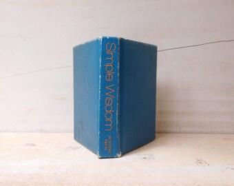 Vintage Book - Simple Wisdom - Pocket Sized