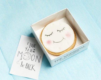 I Love you to the Moon and Back Cookie