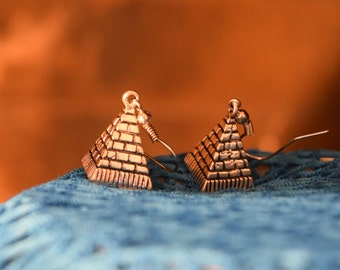 Harry Potter Pyramid Earrings