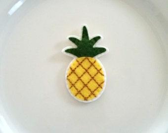Pineapple Felt Handmade Magnet IVF IUI TTC