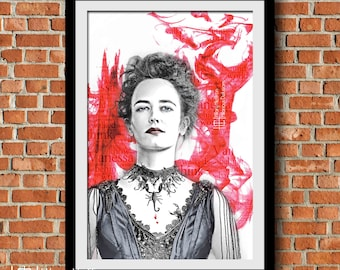Vanessa Ives Blood Print, Penny Dreadful