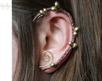 woodland ear cuff - fairy ear cuffs - fairy earrings- statement jewelry- statement jewelry