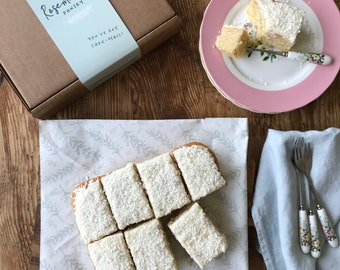 Cake Lover Monthly Subscription - edible gift - cake gift - subscription box - cake subscription - birthday gift