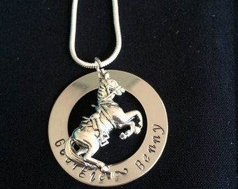 Horse Name Necklace