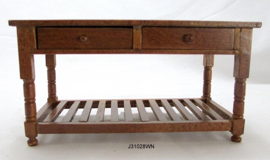 Miniatur Puppenhaus oder Zimmer Box Küchentisch Tisch von Jbm