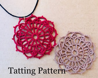 Notre Dame Rose Window PDF tatting pattern