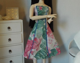 "Floral Party Dress 1--16"" Fashion Dolls"