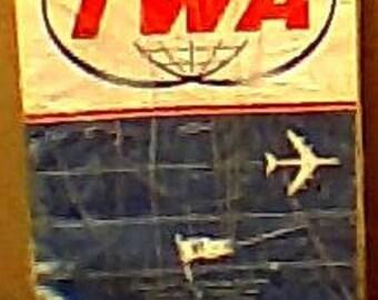 1963 TWA Timetable