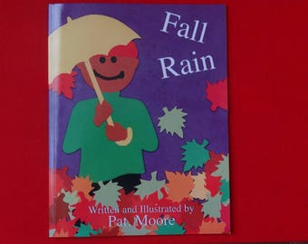 Fall Rain Picture Book / Signed Copy