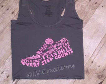Running shoe Inspiration shirt Shoes Run Tshirt tee Workout Exercise Fit Active
