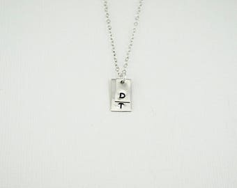 Initial Necklace, Simple Necklace, Delicate Necklace, Initial Necklace, Personalized Necklace