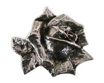Rose Flower ~ Lapel Pin/Brooch ~ A138,AC138,AP138,AP138C