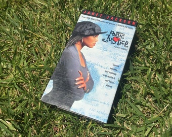 POETIC JUSTICE VHS janet jackson tupac shakur boyz n the hood john singleton maya angelou naughty by nature tony toni tone south central dre