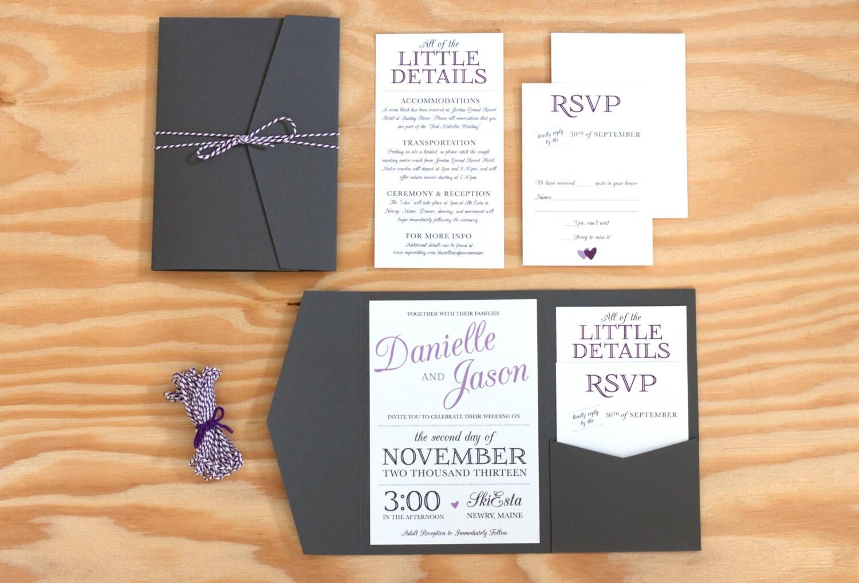 cool invitation design