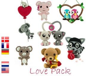 Love Pack - 6 crochet patterns