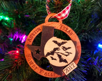 Austin Texas Bats 2018 Christmas Ornament (updated image to follow!)