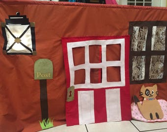 House Themed Playhouse, Indoor Play House, Table top playhouses.