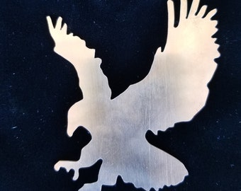 Handcrafted Copper Eagle Magnet