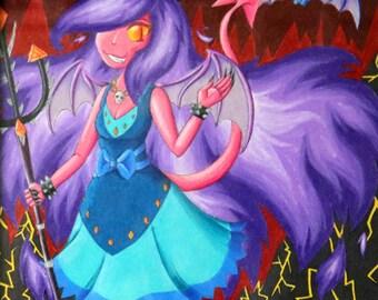 Flarria, Princess of Imps (Print)