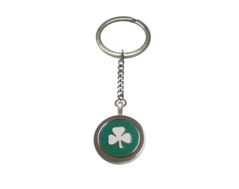 Clover Pendant Keychain