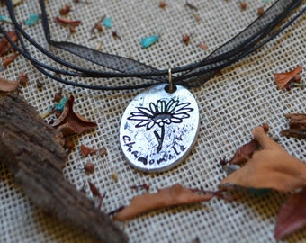 Chamomile - Witchcraft Necklace//Magic Pendant//Magick//Wicca//Witchcraft Jewelry//Herbology